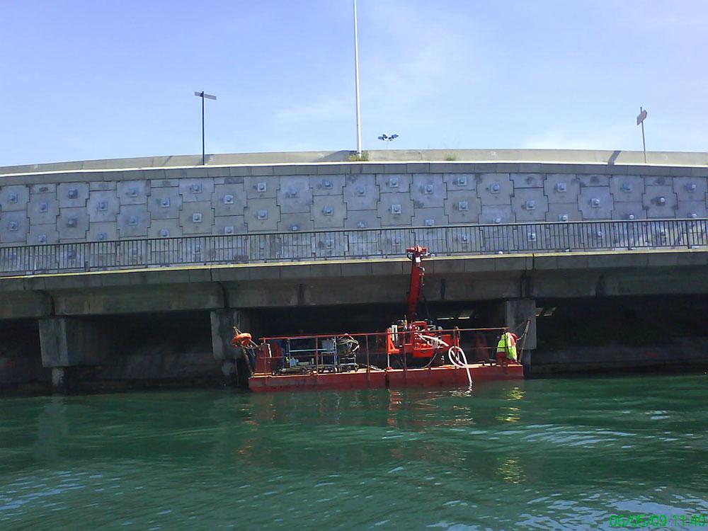 Votre projet géotechnique : OUVRAGES FLUVIAUX ET PORTUAIRES Ports, digues, quais, émissaires